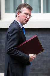 London, July 4th 2017. Attorney General Jeremy Wright leaves the weekly cabinet meeting at 10 Downing Street in London.
