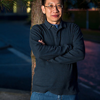 Alvin Pang photographed at the Stanza poetry festival in St Andrews, Scotland. 6 March 2013<br /> <br /> Photograph by Chris Scott/Writer Pictures<br /> <br /> WORLD RIGHTS