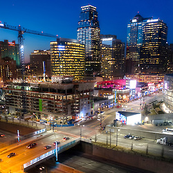 Two Light Tower residential construction underway in downtown Kansas City, Missouri