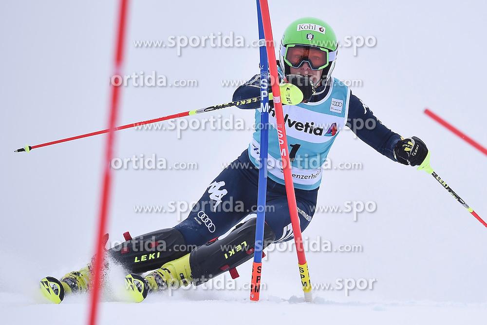 13.03.2016, Pista Silvano Beltrametti, Lenzerheide, SUI, FIS Weltcup Ski Alpin, Lenzerheide, Superkombination, Slalom, Damen, im Bild Johanna Schnarf (ITA) // during ladie's Supercombi, Slalom Race of Lenzerheide FIS Ski Alpine World Cup at the Pista Silvano Beltrametti in Lenzerheide, Switzerland on 2016/03/13. EXPA Pictures &copy; 2016, PhotoCredit: EXPA/ Freshfocus/ Manuel Lopez<br /> <br /> *****ATTENTION - for AUT, SLO, CRO, SRB, BIH, MAZ only*****
