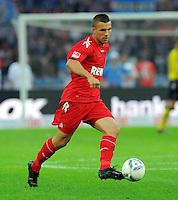 1. Oktober 2011: Berlin, Olympiastadion: Fussball 1. Bundesliga, 8. Spieltag: Hertha BSC - 1. FC Koeln: Koelns Lukas Podolski am Ball.