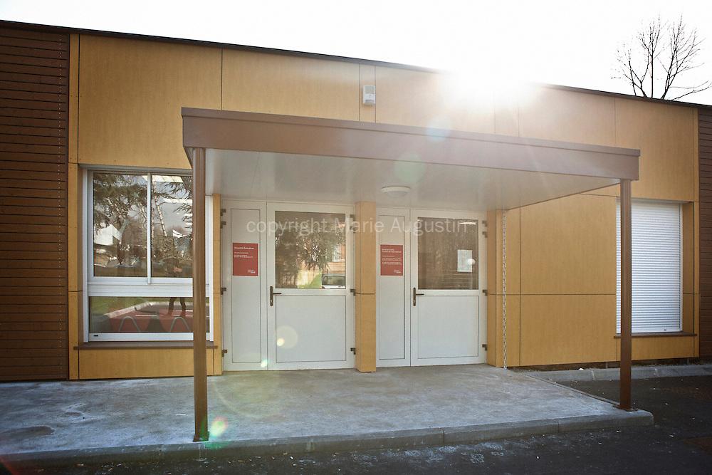 Service Santé et centre de vaccination - Clichy-Sous-Bois, mars 2012