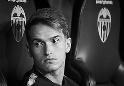 October 7, 2018 - Valencia, U.S. - VALENCIA, SPAIN - OCTOBER 7:  Denis Suarez,midfielder of FC Barcelona looks before the La Liga match between Valencia CF and FC Barcelona on October 7, 2018, at Mestalla Stadium in Valencia, Spain. (Photo by Carlos Sanchez Martinez/Icon Sportswire) (Credit Image: © Carlos Sanchez Martinez/Icon SMI via ZUMA Press)