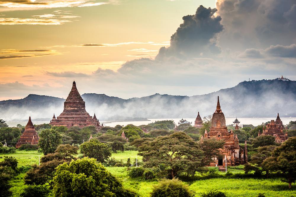 View of Temples, Bagan, Myanmar | Vietnam Photographer ...