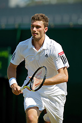 LONDON, ENGLAND - Monday, June 28, 2010: Daniel Brands (GER) during the Gentlemen's Singles 4th Round match on day seven of the Wimbledon Lawn Tennis Championships at the All England Lawn Tennis and Croquet Club. (Pic by David Rawcliffe/Propaganda)