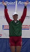 FISA World Cup Rowing Munich Germany.Women's Single BLR W1X.Ekaterina KARSTEN - KHODOTOVITCH. 29/05/2004. Finals day.. [Mandatory Credit: Peter Spurrier: Intersport Images].