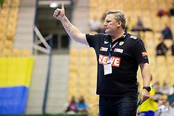 Nikolaj Jacobsen, head coach of Rhein-Neckar Lowen during handball match between RK Celje Pivovarna Lasko (SLO) and Rhein-Neckar Lowen (GER) in Group phase of EHF Men's Champions League 2016/17, on March 2, 2017 in Arena Zlatorog, Celje, Slovenia. Photo by Urban Urbanc / Sportida