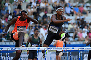 Abderrahman Samba (QAT) competes in 400m Hurdles Men during the Meeting de Paris 2018, Diamond League, at Charlety Stadium, in Paris, France, on June 30, 2018 - Photo Julien Crosnier / KMSP / ProSportsImages / DPPI