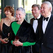 NLD/Amsterdam/20110527 - 40ste verjaardag Prinses Maxima, Jaap Rost Onnes en Partner Mary
