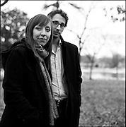 BIRMINGHAM, AL – DECEMBER 11, 2011: Stephen and Annie Devries.