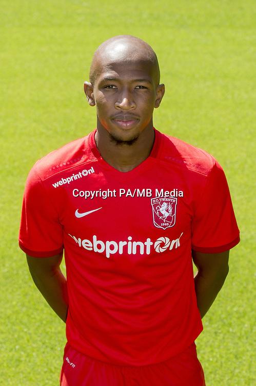 Kamohelo Mokotjo during the team presentation of FC Twente on July 21, 2015 at the Grolsch Veste in Enschede, The Netherlands.
