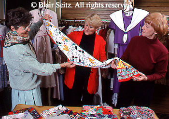 Active Aging Senior Citizens, Retired, Activities, Shopping. Clothing Store, Boutique,