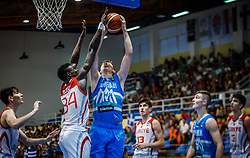 Malovcic Alen of Slovenia during basketball match between National teams of Turkey and Slovenia in the SemiFinal of FIBA U18 European Championship 2019, on August 3, 2019 in Nea Ionia Hall, Volos, Greece. Photo by Vid Ponikvar / Sportida