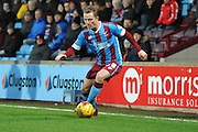 *Gary McSheffrey of Scunthorpe United during the Sky Bet League 1 match between Scunthorpe United and Bradford City at Glanford Park, Scunthorpe, England on 21 November 2015. Photo by Ian Lyall.