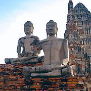 Wat Chai Watthanaram Buddhas