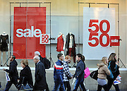 © Licensed to London News Pictures. 09/12/2011, London, UK. Crowds on Regent Street. Christmas shoppers in London's Oxford Street and Regent Street today 09 December 2011. Some of the shops are already having sales and displaying prices in windows. Photo credit : Stephen Simpson/LNP
