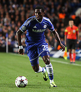 Picture by Daniel Chesterton/Focus Images Ltd +44 7966 018899<br /> 18/09/2013<br /> Samuel Eto'o of Chelsea during the UEFA Champions League match at Stamford Bridge, London.