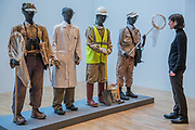 Costume Bureau, 2006 - Mark Dion: Theatre of the Natural World at the Whitechapel Gallery. This is the first major UK survey show of the American artist and includes a new work made especially for London. He is an 'explorer, collector, activist and conjuror of magical environments', and invites vistors to embark on a journey.