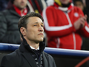 Bayern Munich coach Niko Kovac' during the Champions League round of 16, leg 2 of 2 match between Bayern Munich and Liverpool at the Allianz Arena stadium, Munich, Germany on 13 March 2019.