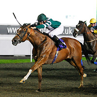 Hierach and Lewis Walsh winning the 8.45 race