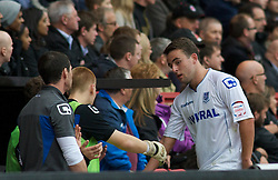 LONDON, ENGLAND - Saturday, October 8, 2011: Tranmere Rovers' Jose Baxter is substituted against Charlton Athletic during the Football League One match at The Valley. (Pic by Gareth Davies/Propaganda)