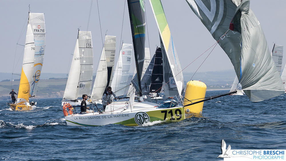 Prologue du mini Fastnet 2010