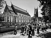 A temple procession during Songkran 2017 in Nakhon Nayok, Thailand. PHOTO BY LEE CRAKER