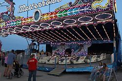 07 August 2015:   McLean County Fair - Matterhorn amusement ride.