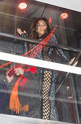 Nicole Scherzinger, SUSHISAMBA - 1st anniversary party, Sushi Samba - The Heron Tower, London UK, 12 November 2013, Photo by Raimondas Kazenas © Licensed to London News Pictures. Photo credit : Raimondas Kazenas/Piqtured/LNP