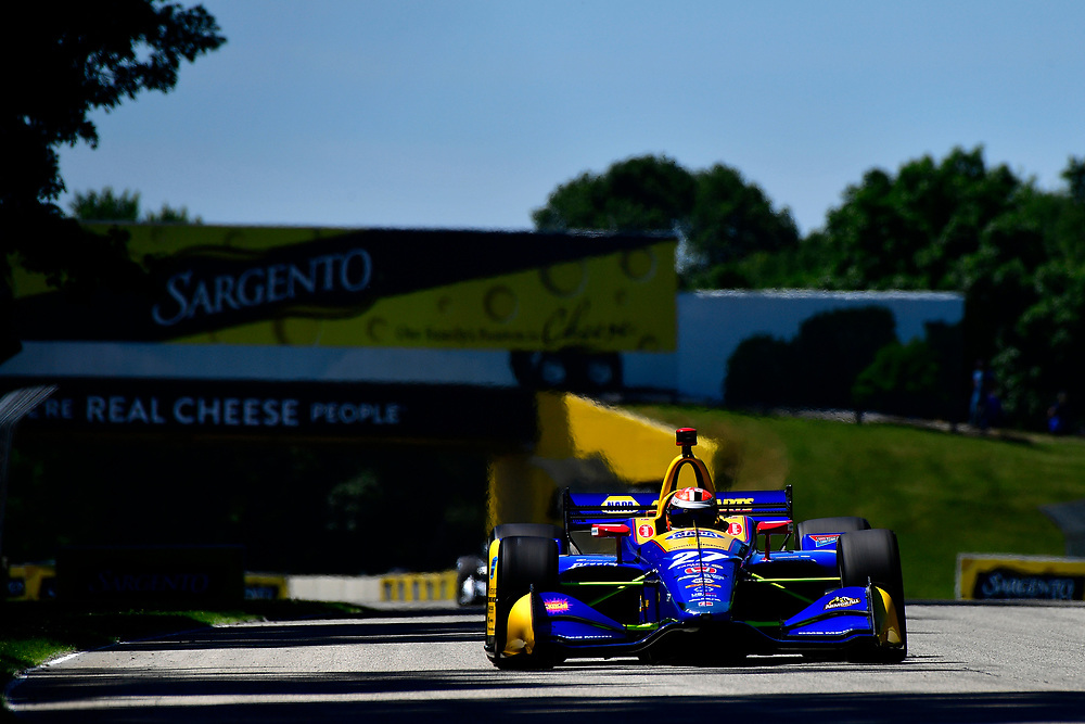 Alexander Rossi, Andretti Autosport Honda<br /> Saturday 23 June 2018<br /> KOHLER Grand Prix at Road America<br /> Verizon IndyCar Series<br /> Road America WI USA<br /> World Copyright: Scott R LePage