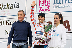 Carmen Small (Cervélo Bigla) leads the mountains competition - Emakumeen Bira 2016 Stage 3 - A 105 km road stage starting and finishing in Berriatua, Spain on 16th April 2016.