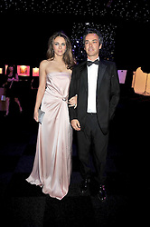 LIZ HURLEY and HENRY DENT-BROCKLEHURST at The Butterfly Ball in aid of the Caudwell Children Charity held in Battersea park, London on 14th May 2009.