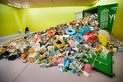 Modern art installation called Yiwu Survey by Chinese artist Liu Jianhua at Groninger Museum in Groningen Netherlands 2008