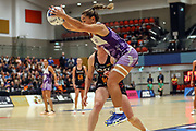 Stars Temepara Bailey. ANZ Premiership Netball, Northern Stars v Splice Construction Magic, Bruce Pulman Arena, Auckland, Monday 8th April 2019. Copyright Photo: Shane Wenzlick / www.photosport.nz