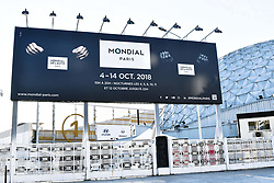 October 1, 2018 - Paris, Ile-de-France, France - 120th anniversary of Mondial Paris Motor Show open the doors 4 october, 2018 - France Paris  (Credit Image: © Daniel Pier/NurPhoto/ZUMA Press)