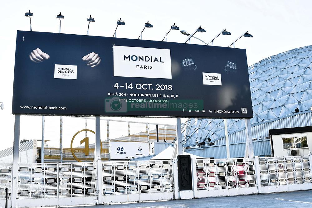 October 1, 2018 - Paris, Ile-de-France, France - 120th anniversary of Mondial Paris Motor Show open the doors 4 october, 2018 - France Paris  (Credit Image: © Daniel Pier/NurPhoto/ZUMA Press)