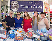 Abita Springs Women's Society at the 2016 Water Festival