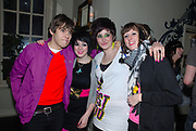 Backstage at a Klaxons gig, Cardiff Febuary 2007
