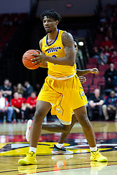 NORMAL, IL - December 07: Tyzhaun Claude during a college basketball game between the ISU Redbirds and the Morehead State Eagles on December 07 2019 at Redbird Arena in Normal, IL. (Photo by Alan Look)