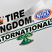 GAINESVILLE, FL - MAR 10, 2011:  The Gainesville Raceway plays host to the Tire Kingdom Gatornationals race in Gainesville, FL.