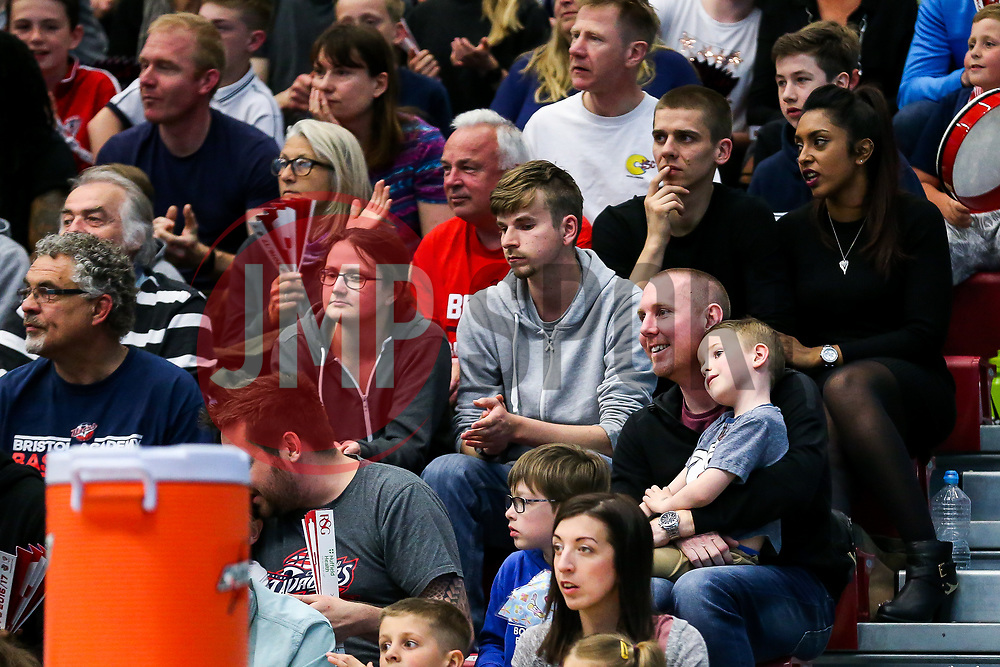 Adam Baker of BCFC - Rogan Thomson/JMP - 28/04/2017 - BASKETBALL - SGS Wise Arena - Bristol, England - Bristol Flyers v Newcastle Eagles - BBL Championship Play-Off Quarter Final First Leg.