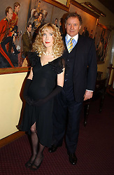 RICHARD & BASIA BRIGGS at a reception to support The Hyde Park Appeal held in the Officers Mess, Household Cavalry Mounted Regiment, Hype Park Barracks, Knightsbridge, London SW1 on 30th November 2004.<br /><br />NON EXCLUSIVE - WORLD RIGHTS