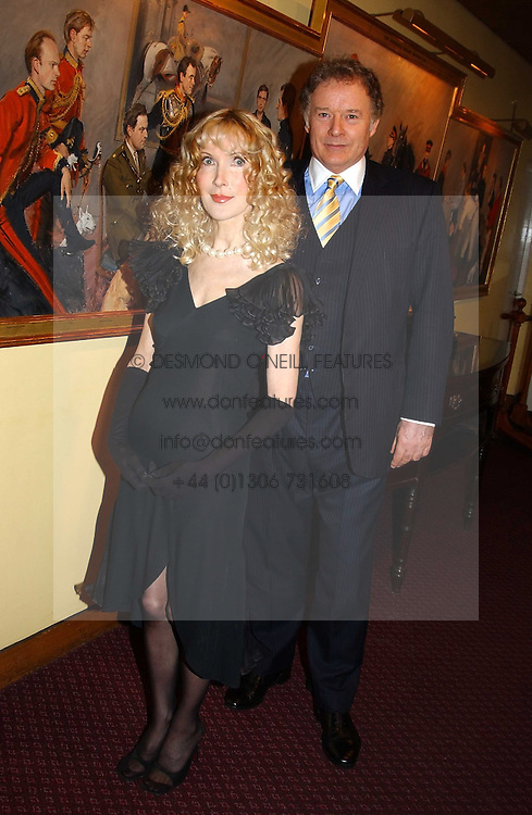 RICHARD &amp; BASIA BRIGGS at a reception to support The Hyde Park Appeal held in the Officers Mess, Household Cavalry Mounted Regiment, Hype Park Barracks, Knightsbridge, London SW1 on 30th November 2004.<br /><br />NON EXCLUSIVE - WORLD RIGHTS