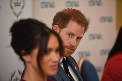 The Duke and Duchess of Sussex attend a roundtable discussion on gender equality with the Queen's Commonwealth Trust and One Young World at Windsor Castle.