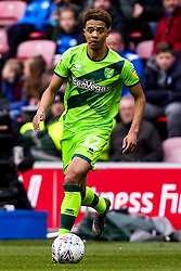 Jamal Lewis of Norwich City - Mandatory by-line: Robbie Stephenson/JMP - 14/04/2019 - FOOTBALL - DW Stadium - Wigan, England - Wigan Athletic v Norwich City - Sky Bet Championship