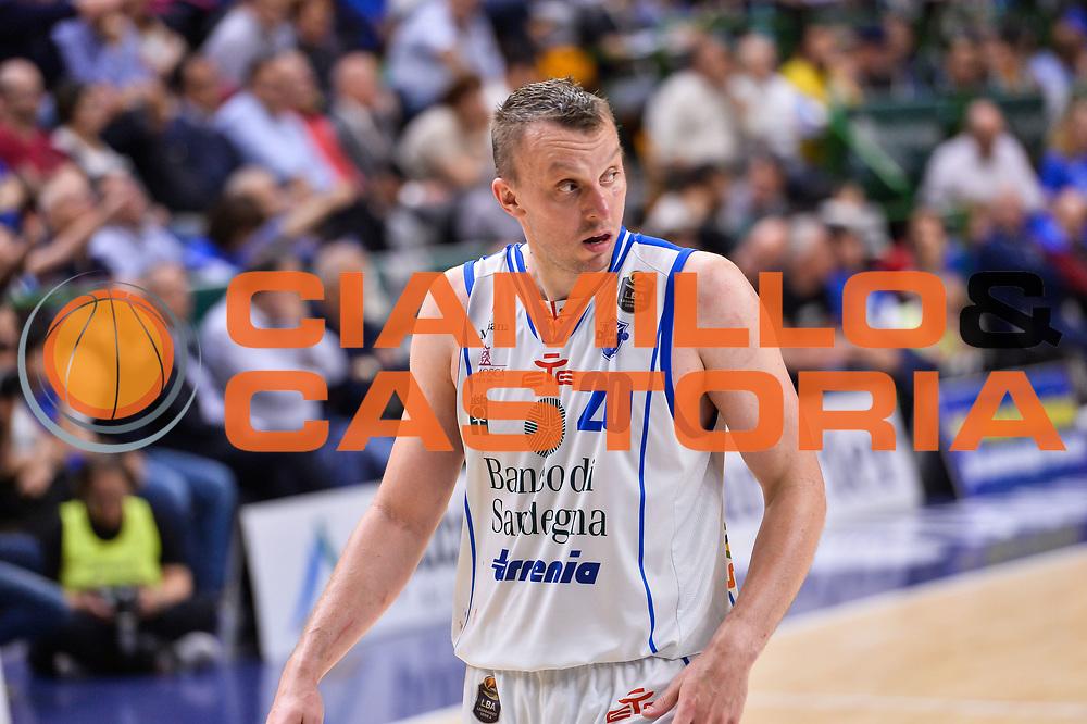 Dusko Savanovic<br /> Banco di Sardegna Dinamo Sassari - Dolomiti Energia Aquila Basket Trento<br /> Legabasket Serie A LBA Poste Mobile 2016/2017<br /> Playoff Quarti Gara3<br /> Sassari 16/05/2017<br /> Foto Ciamillo-Castoria