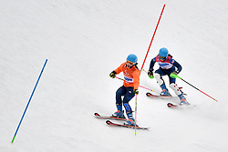 FITZPATRICK Menna B2 GBR Guide: KEHOE Jennifer competing in the ParaSkiAlpin, Para Alpine Skiing, Slalom at the PyeongChang2018 Winter Paralympic Games, South Korea.