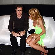 Playboy Night 2004, Johan Nijenhuis in gesprek met Kim Holland