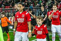 ALKMAAR - 02-02-2016, AZ - HHC, AFAS Stadion, 1-0, debuut, AZ speler Levi Opdam.
