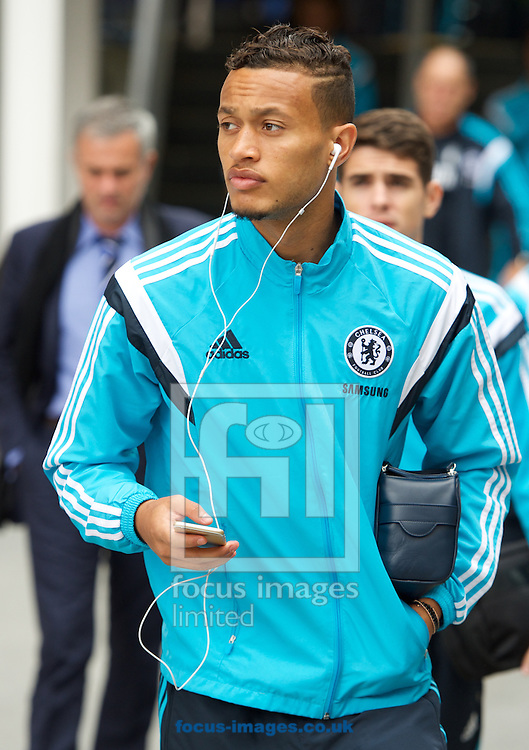 Lewis Baker of Chelsea arriving for the Barclays Premier League match at Selhurst Park, London<br /> Picture by Alan Stanford/Focus Images Ltd +44 7915 056117<br /> 18/10/2014